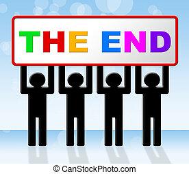 finale, schluss, ende, ablauf, mittel