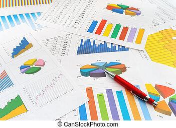 finanças, documentos