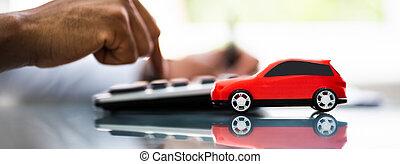 finanças, documentos, empréstimo carro