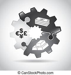 finanças, infographics
