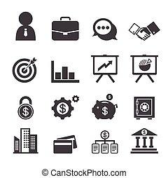 finanças, negócio