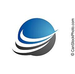 finanças negócio, profissional, logotipo, modelo
