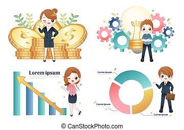 finance and business teamwork