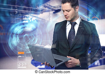 Finance and future concept
