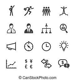 Finance and Human Resource Icons
