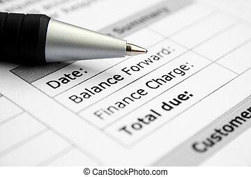 Finance balance