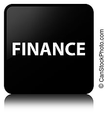 Finance black square button