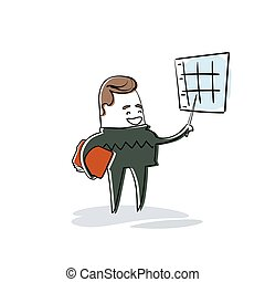 finance, business, graphique, projection, diagramme, rapport, homme