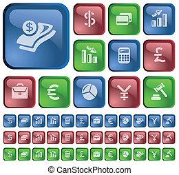 Finance buttons - Finance button set
