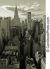 Finance capital - Midtown Manhattan, New York City, USA