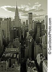 Finance capital - Midtown Manhattan, New York City, USA