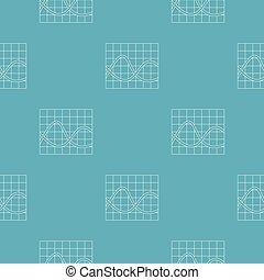Finance chart pattern seamless