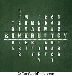 Finance concept: Bankruptcy in Crossword Puzzle - Finance ...