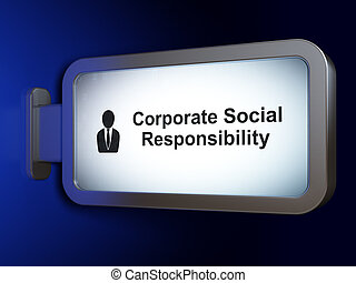 Finance concept: Corporate Social Responsibility and ...