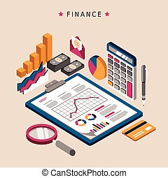 finance concept design