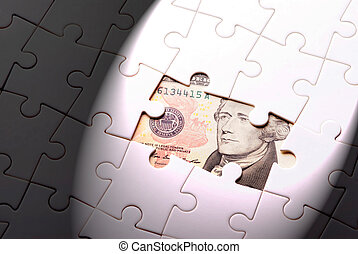 Find out wealth from the puzzle game