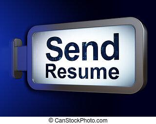 resume send
