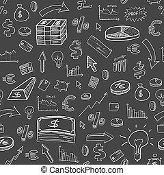 Finance doodle