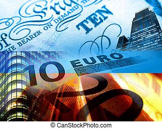Finance euro money