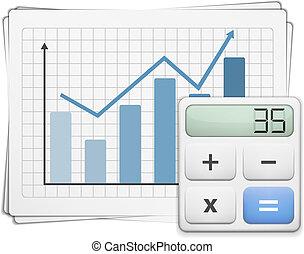 Finance Graph and Calculator
