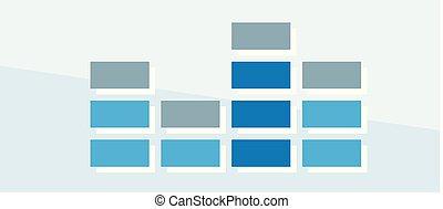 Finance icon. Vector illustration isolated on white background. Chart symbol.