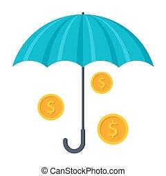 Finance Insurance Concept
