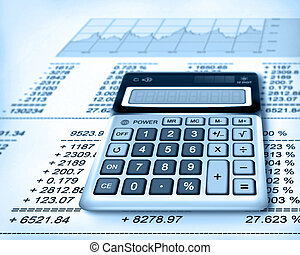 finance, kalkulačka