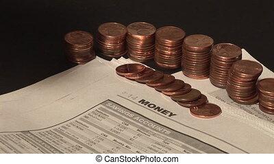 Finance money - Finance concept