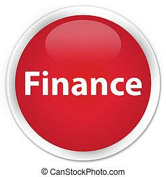 Finance premium red round button