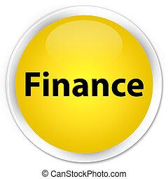 Finance premium yellow round button