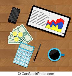 Finance process planning budget
