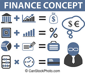 finance signs