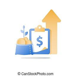 finance, solution, économies, lucratif, investissement, facile, investir, jeûne, compte, argent, prêt, portefeuille, rapide, espèces, assurer, fonds