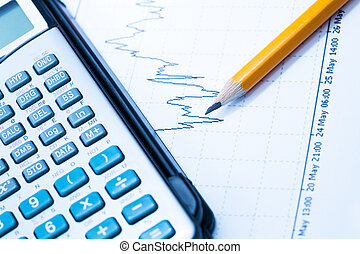 finance Statistical graphs and calculator - Statistical...