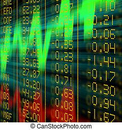 finance - stock market profits and losses of the company ...