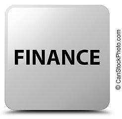 Finance white square button