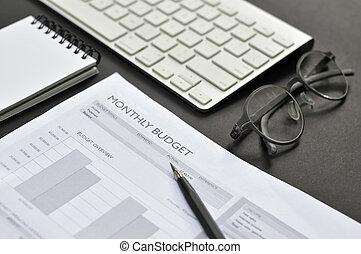 financeiro, contabilidade