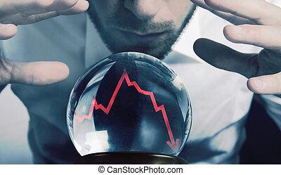 financeiro, crise, forecasts