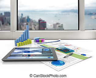 financeiro, escritório