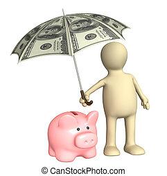 financeiro, proteção