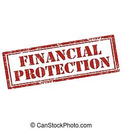 financeiro, protection-stamp