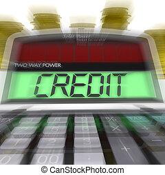 financement, moyens, argent, prêt, crédit, calculé