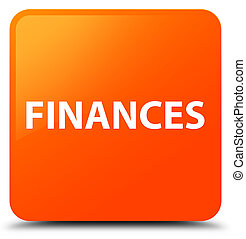 Finances orange square button