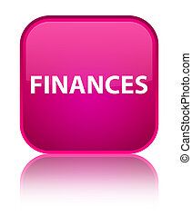 Finances special pink square button
