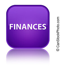 Finances special purple square button
