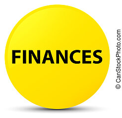 Finances yellow round button