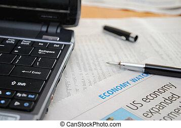 financiële investering, analyse, liggen