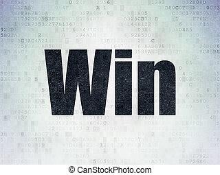 financiën, concept:, winnen, op, digitale , data, papier, achtergrond