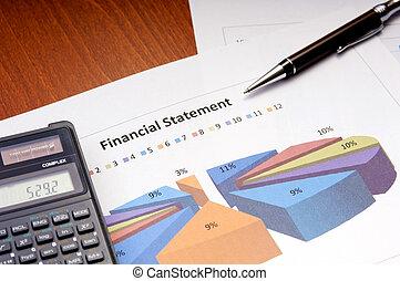 financiën, diagrammen