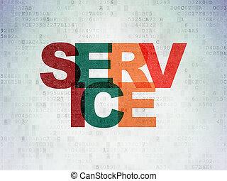 financiën, dienst, papier, achtergrond, digitale , data, concept: